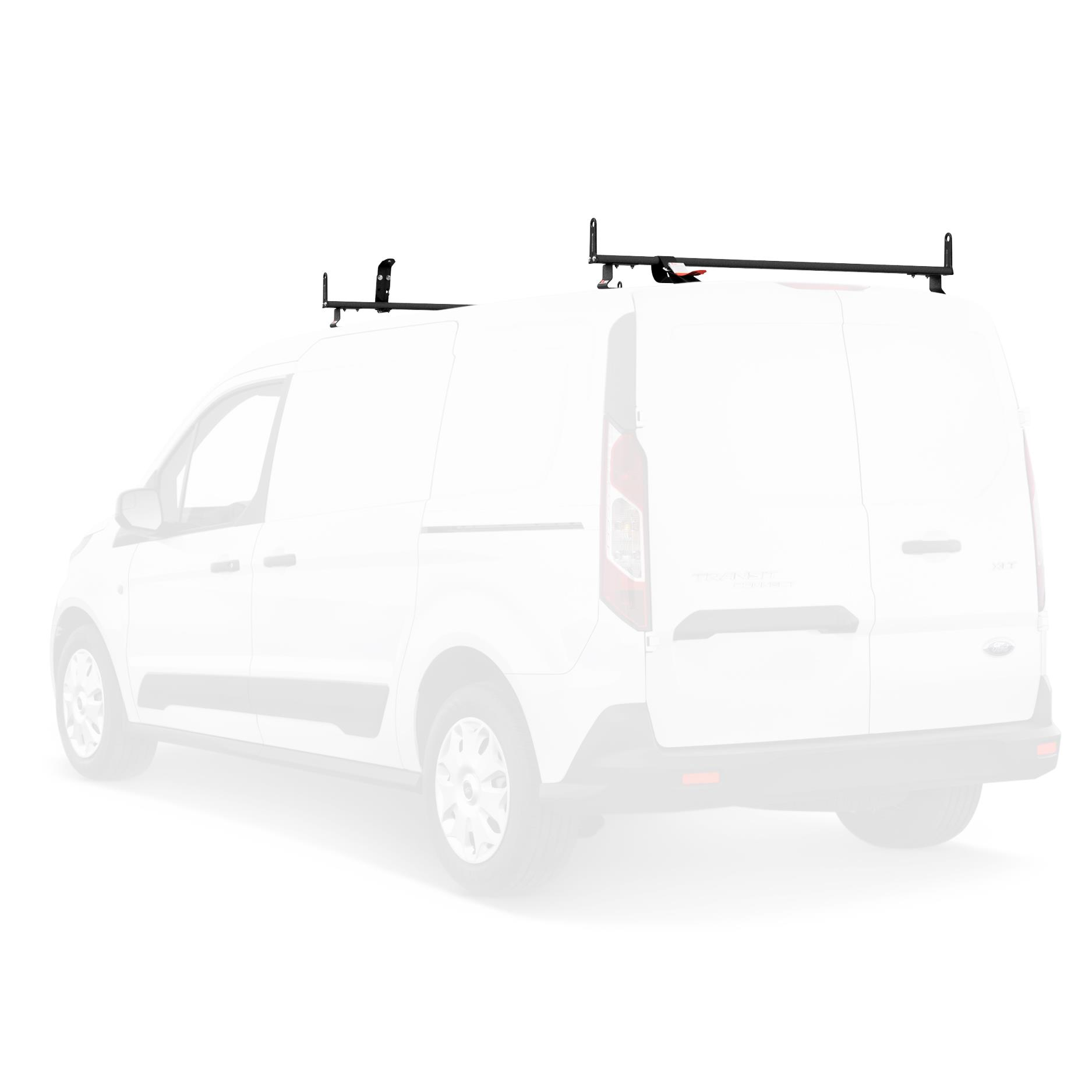 2 Bar Rack System for The Transit Connect 2010-13 and NV200 White