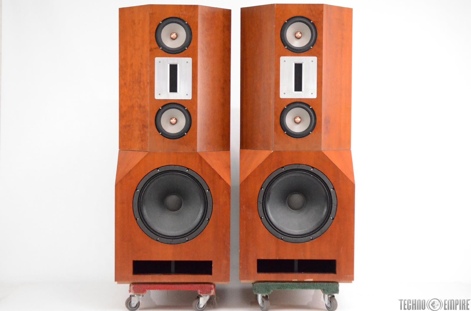 Griffin G1 Mastering Speakers w/ Stereo Crossover & Power Supply Mains #31048