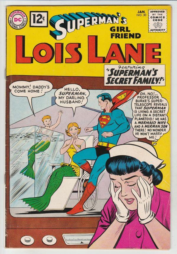 Supermans Girlfriend Lois Lane 30 Strict Vfnm 1st Supermans
