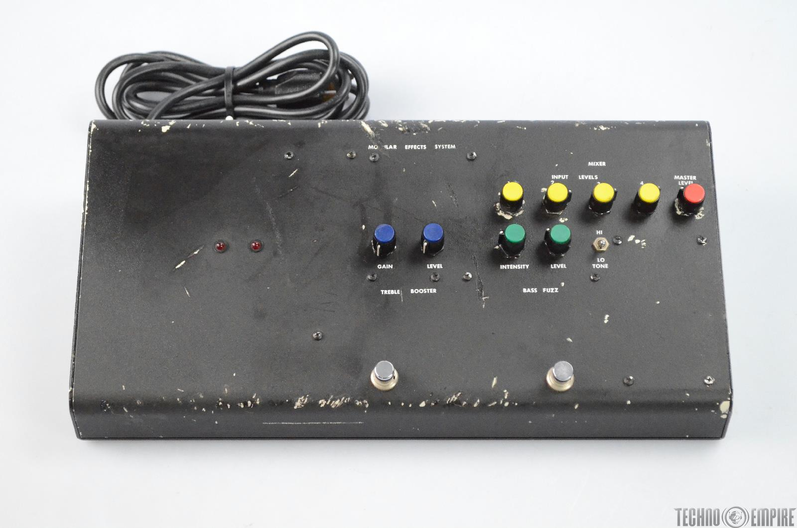 Custom Treble Booster Fuzz Dual Effect Bass Pedal Owned by Neurosis #31218