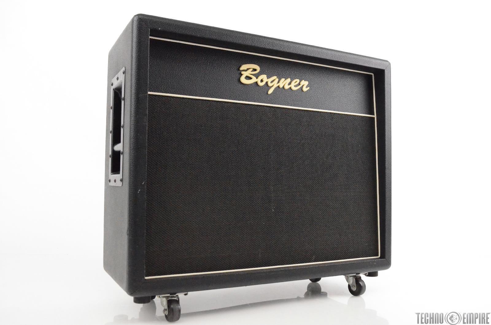 bogner 2x12 semi open back guitar speaker cabinet cab vintage 30 212 31193 ebay. Black Bedroom Furniture Sets. Home Design Ideas