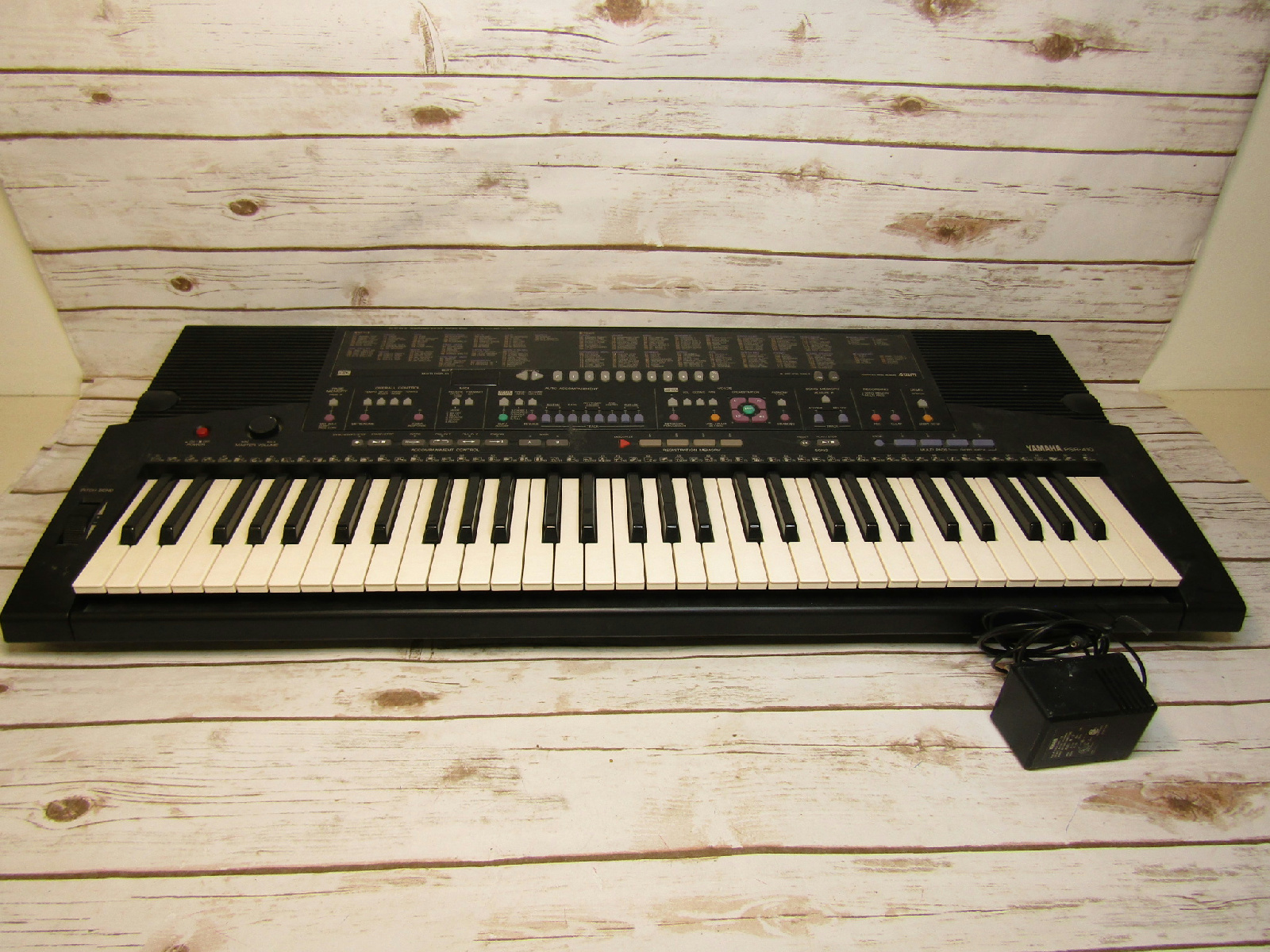 yamaha psr 410 electric piano synthesizer keyboard. Black Bedroom Furniture Sets. Home Design Ideas