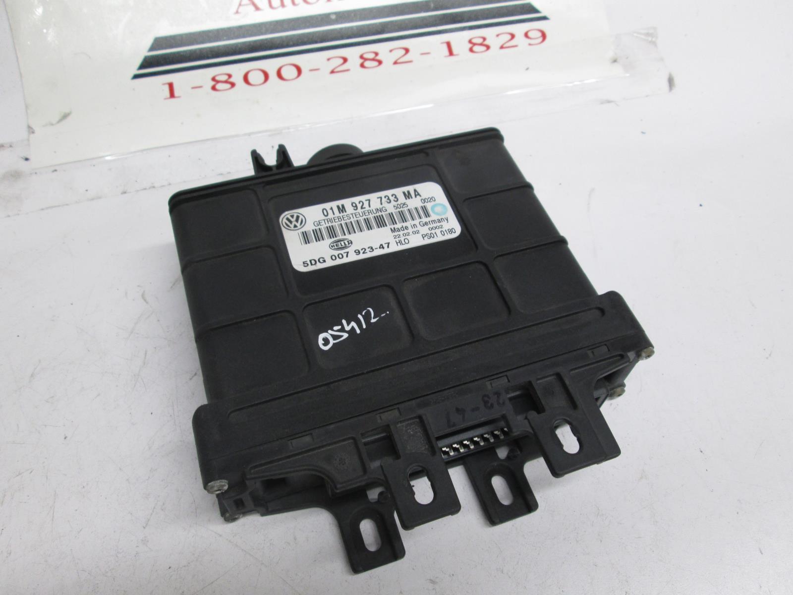 Volkswagen MK4 Jetta Golf TCM transmission control module 01M927733MA