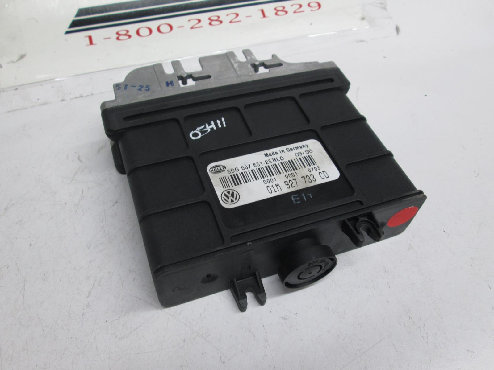Volkswagen Jetta Golf TCM transmission control module 01M927733CD