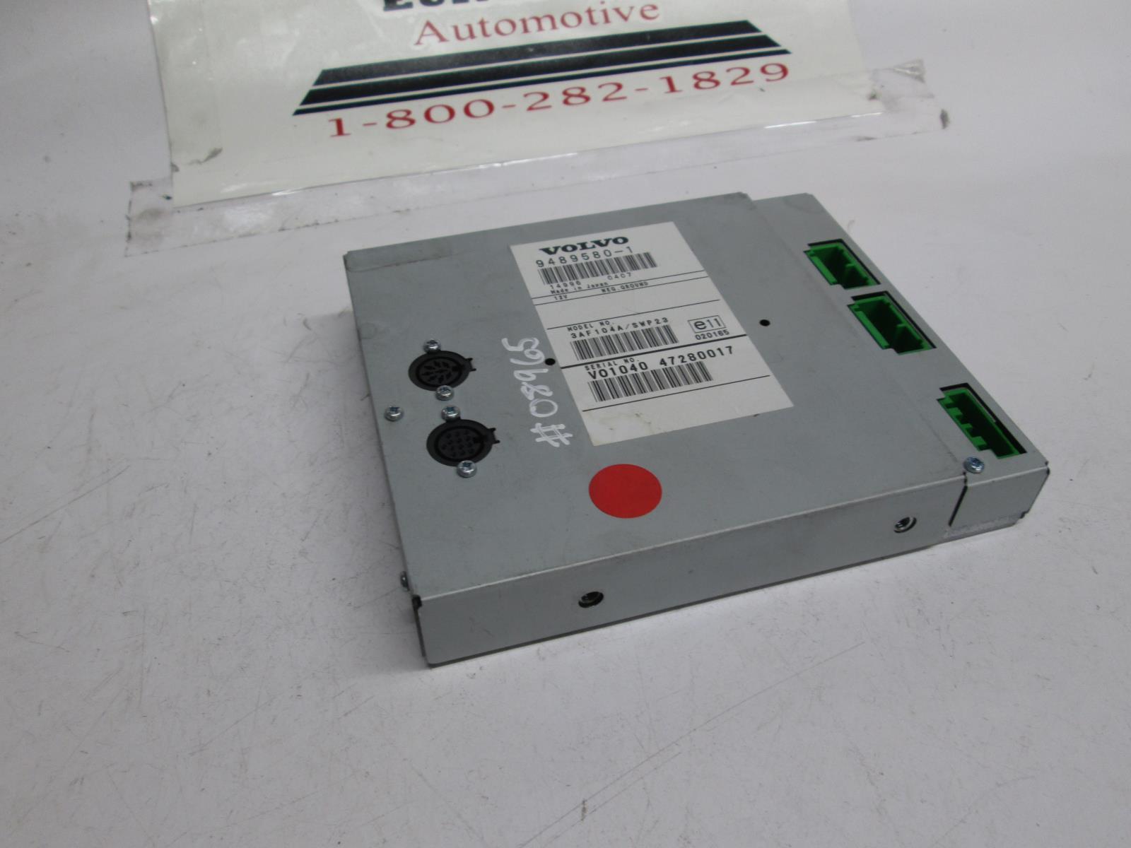 Volvo audio control module 9489580
