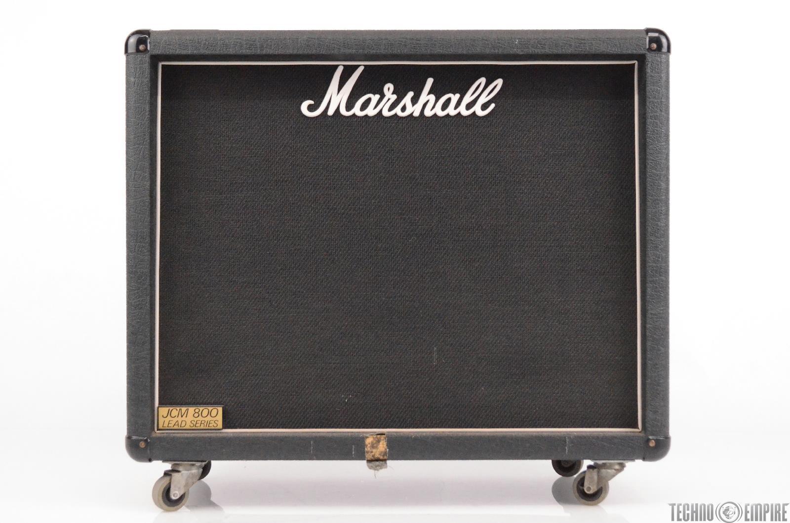 marshall jcm 800 1936 lead series 2x12 guitar speaker cabinet cab 31248 ebay. Black Bedroom Furniture Sets. Home Design Ideas