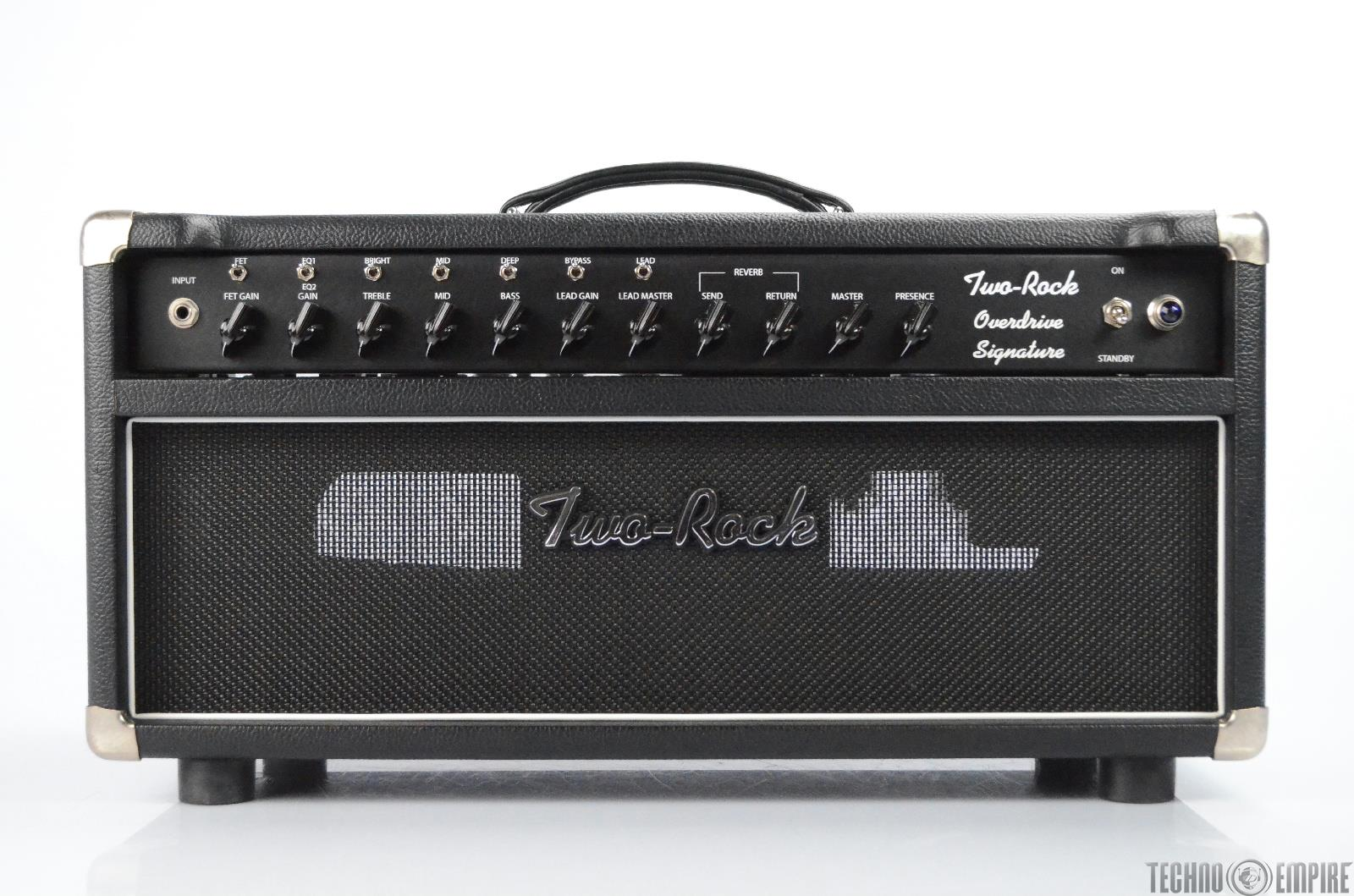 Two Rock Overdrive Signature Electric Guitar Tube Amplifier #025 Amp Head #31299