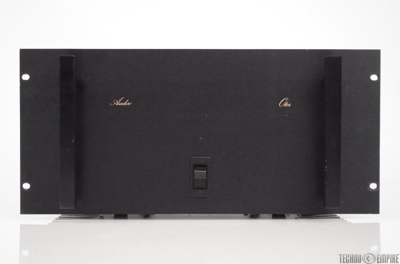 Audire Otez Stereo Power Amplifier 1750 Watt 2 Channel Audiophile Amp #31157