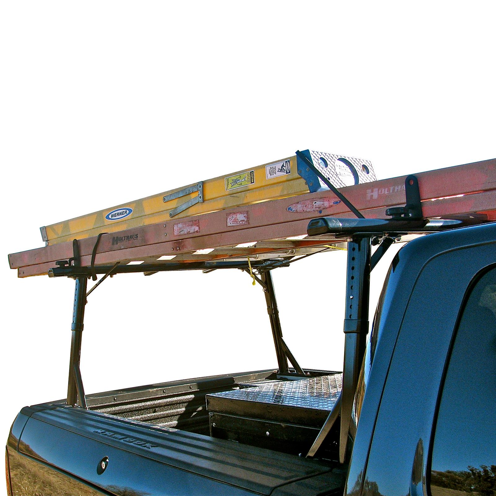 Enclosed Trailer Shelving >> Vantech P3000 Aluminum Ladder Rack System. Fits: RAM ...