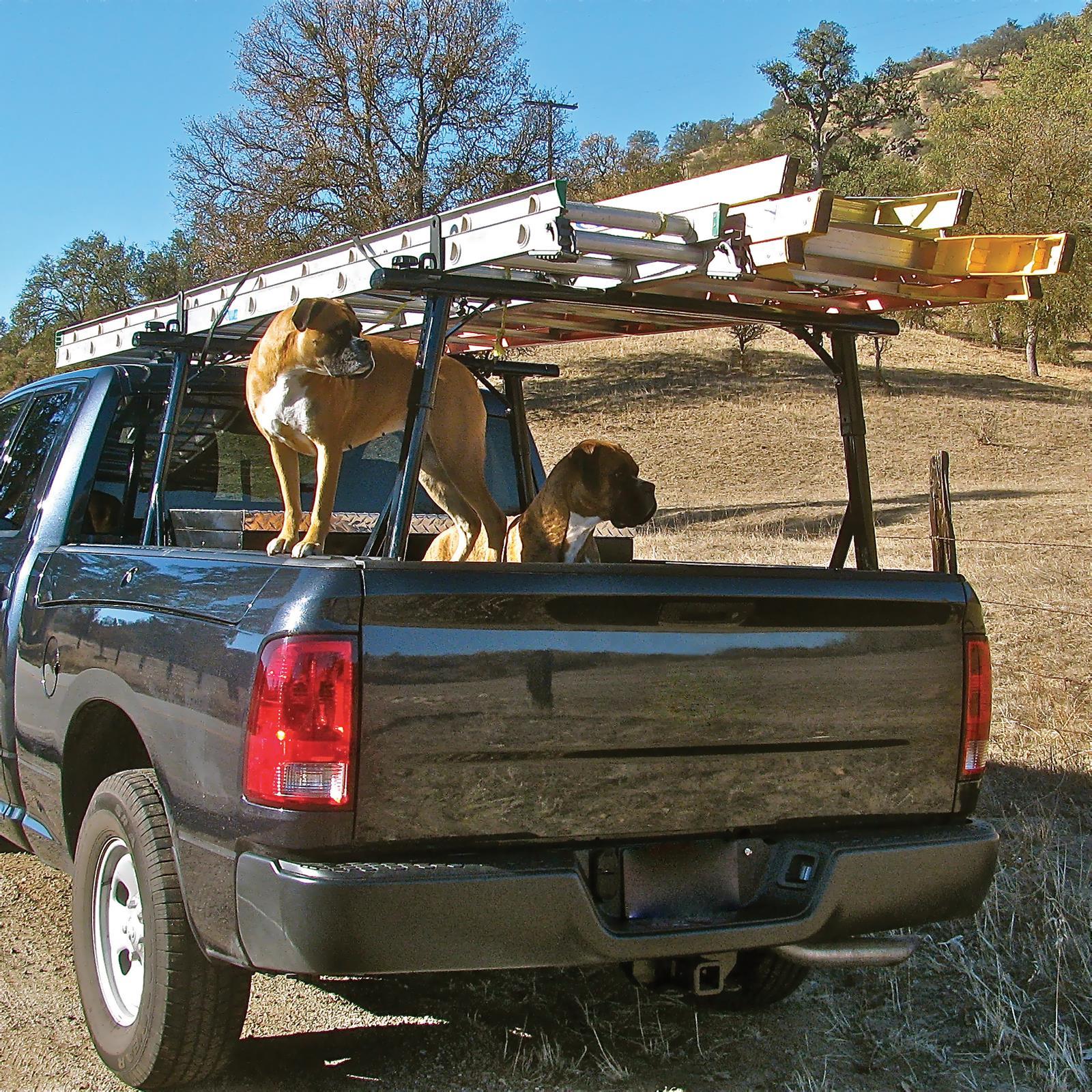 Vantech P3000 Aluminum Ladder Rack System Fits Ram