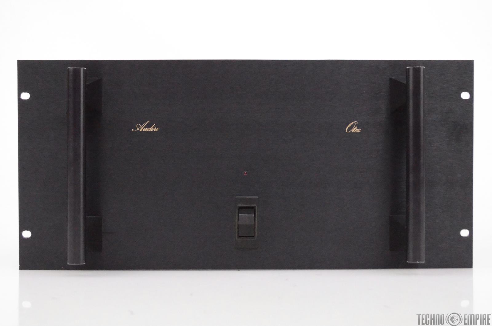Audire Otez Stereo Power Amplifier 1750 Watt 2 Channel Audiophile Amp #31158