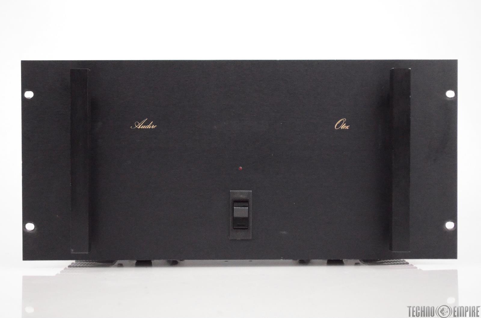 Audire Otez Stereo Power Amplifier 1750 Watt 2 Channel Audiophile Amp #31156