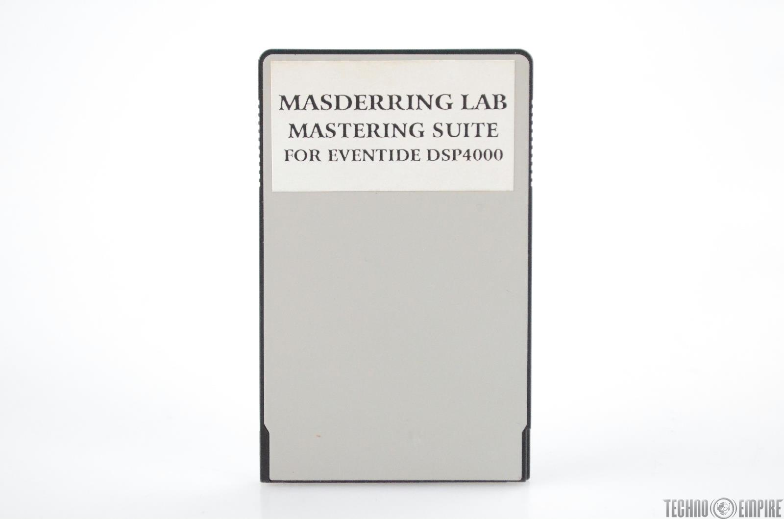 Eventide Masderring Lab Mastering Suite & Alchemy Preset Card for DSP4000 #31177