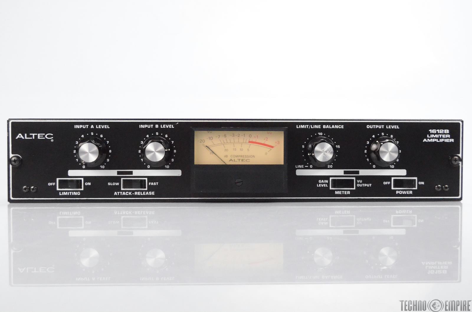 Altec 1612B Limiter Amplifier Compressor 1612 B #30779