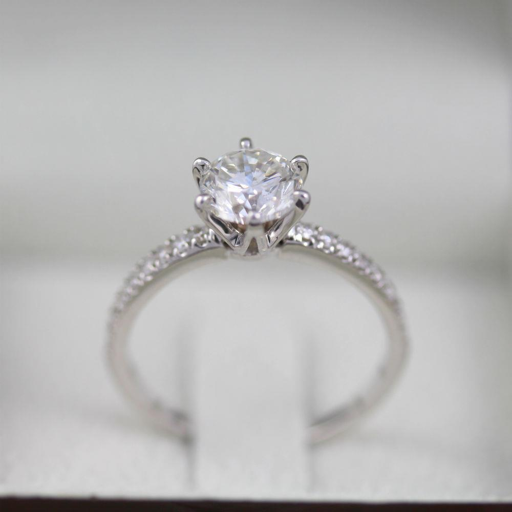 diamond certificate of authenticity template - diamond ring round shape womens rb 2 2 carats anniversary