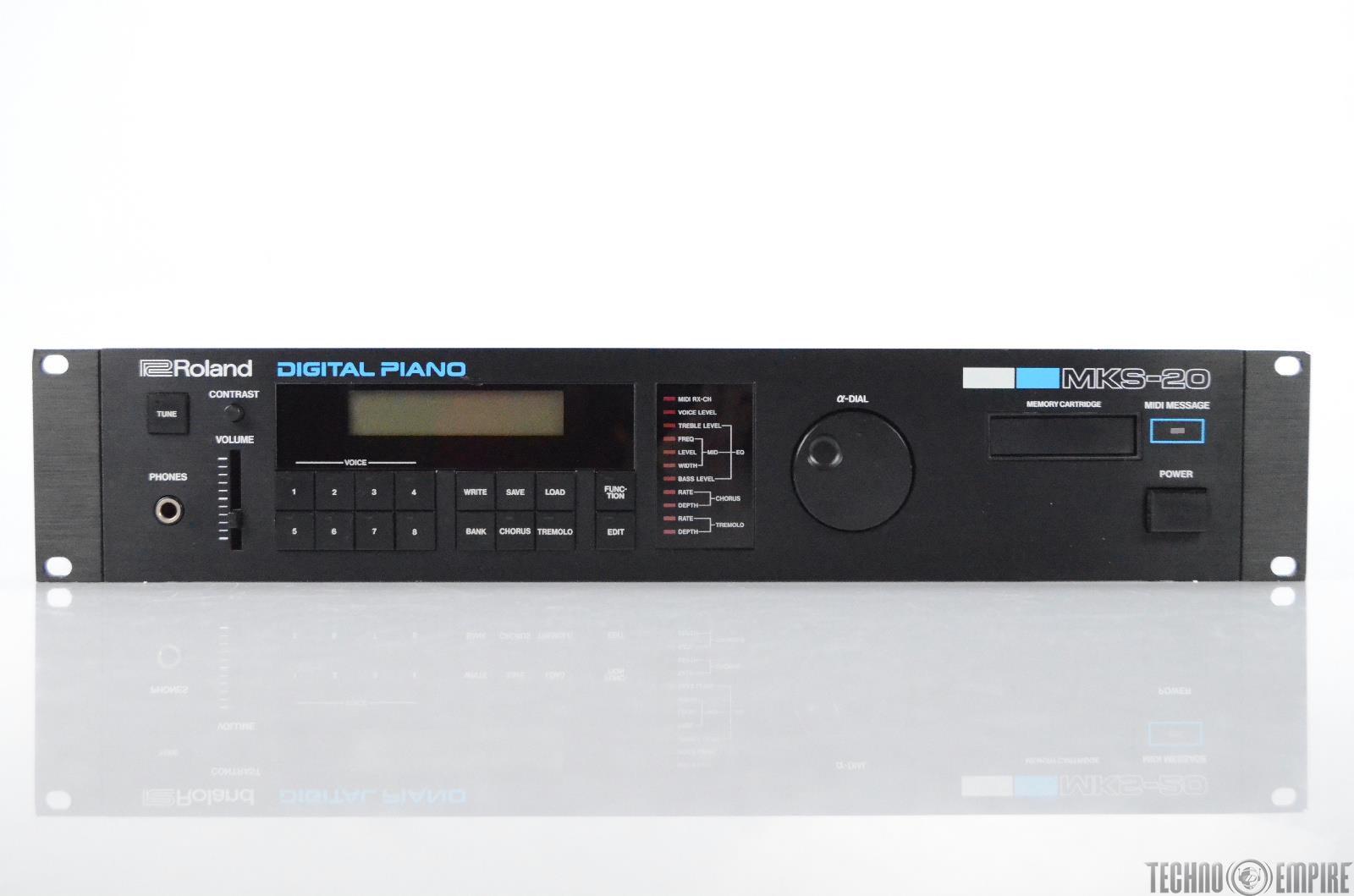 Roland MKS-20 Digital Piano Sound Module Synthesizer Rack Synth MKS20 #31147