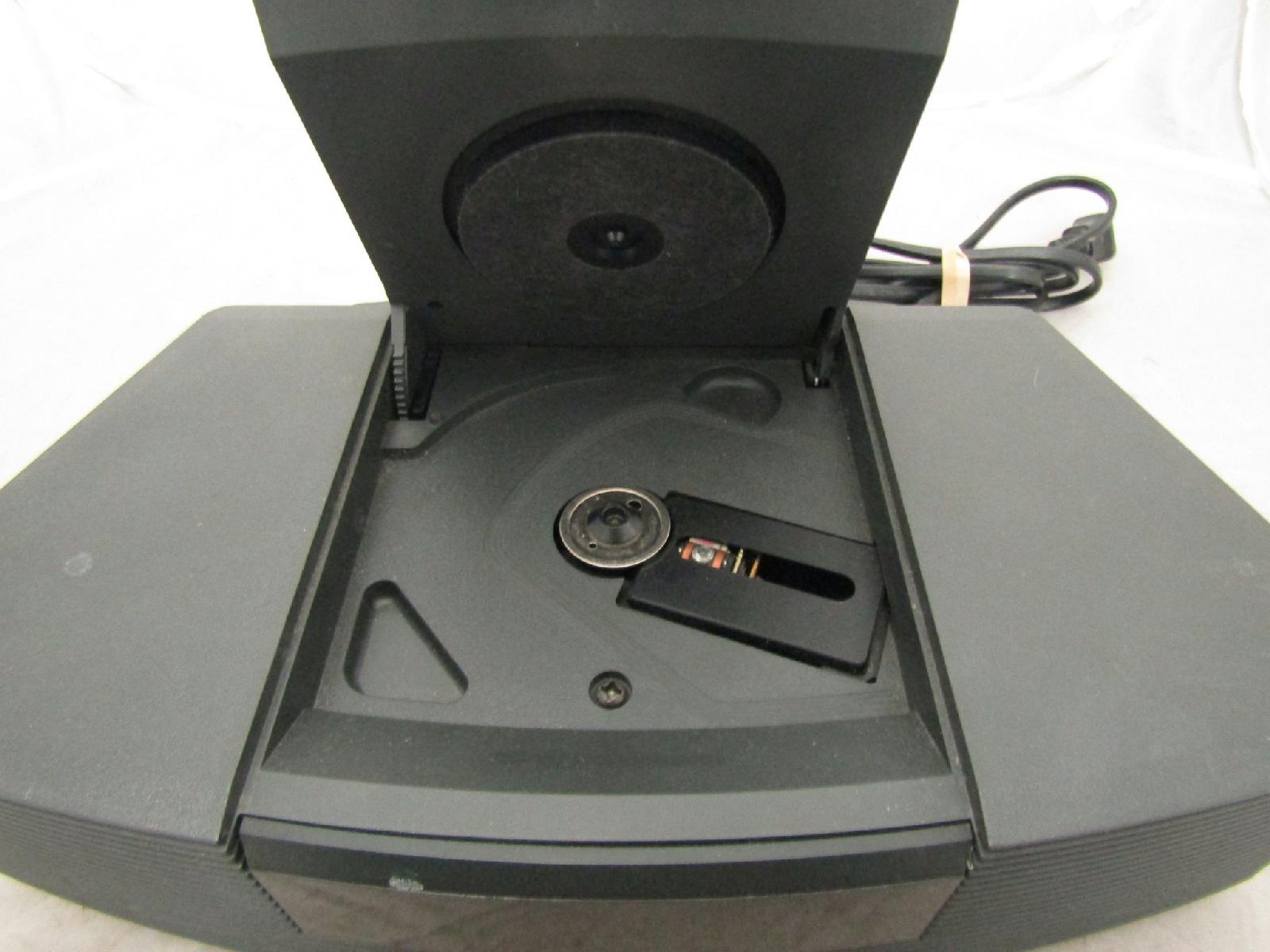 bose wave radio digital alarm clock tested cd player not working ebay. Black Bedroom Furniture Sets. Home Design Ideas