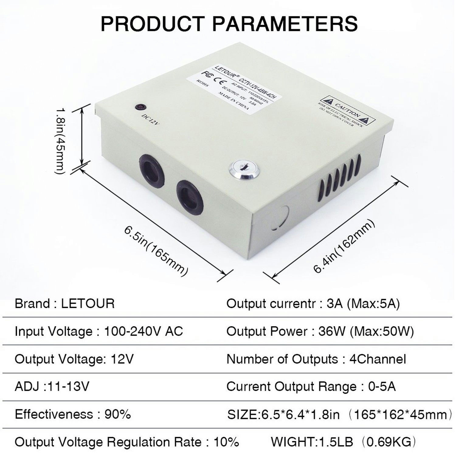 Power Supply For Audio Amplifier Circuitmultiple Output 12v 15v Amplifiercircuitpowersupply Circuit Stereo Letour Box 4 Channels Cctv Security Camera 4ch 35a 45w