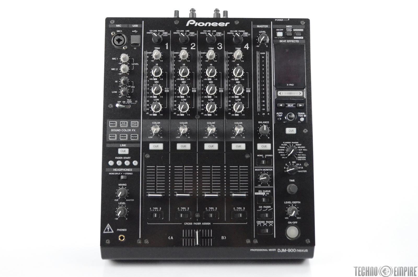 Pioneer DJM-900NXS Nexus Professional 4 Channel DJ Mixer DJM900NXS #31274