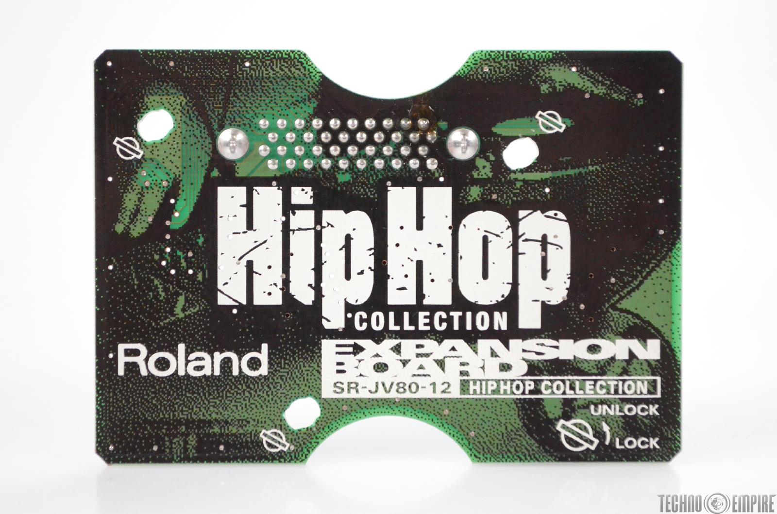 Roland SR-JV80-12 Hip Hop Collection Expansion Board Sound Card SRJV8012 #31217