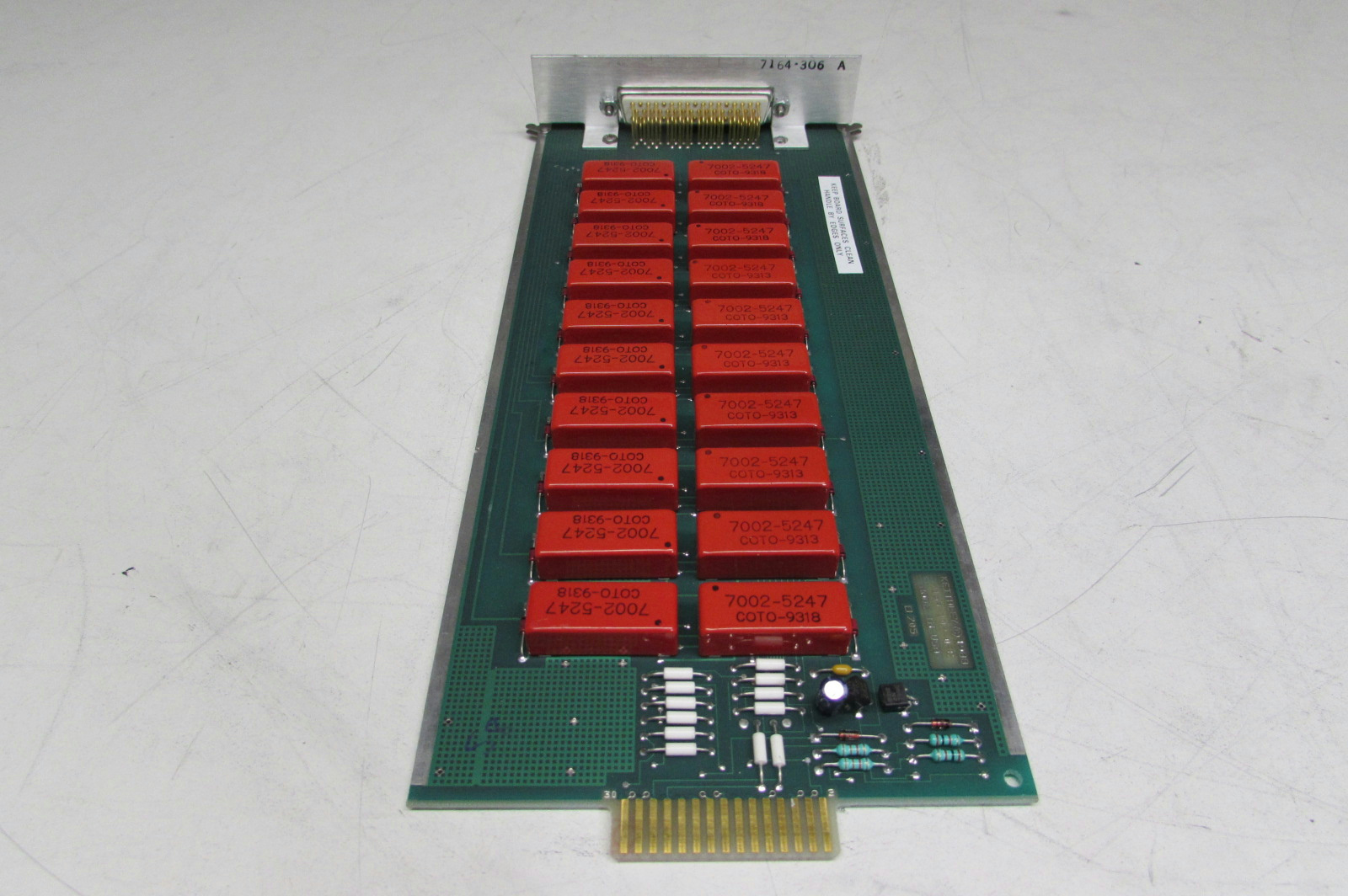 Tested! Scanner Module Card Keithley 7164 20 Channel For 7001 Switch Systems