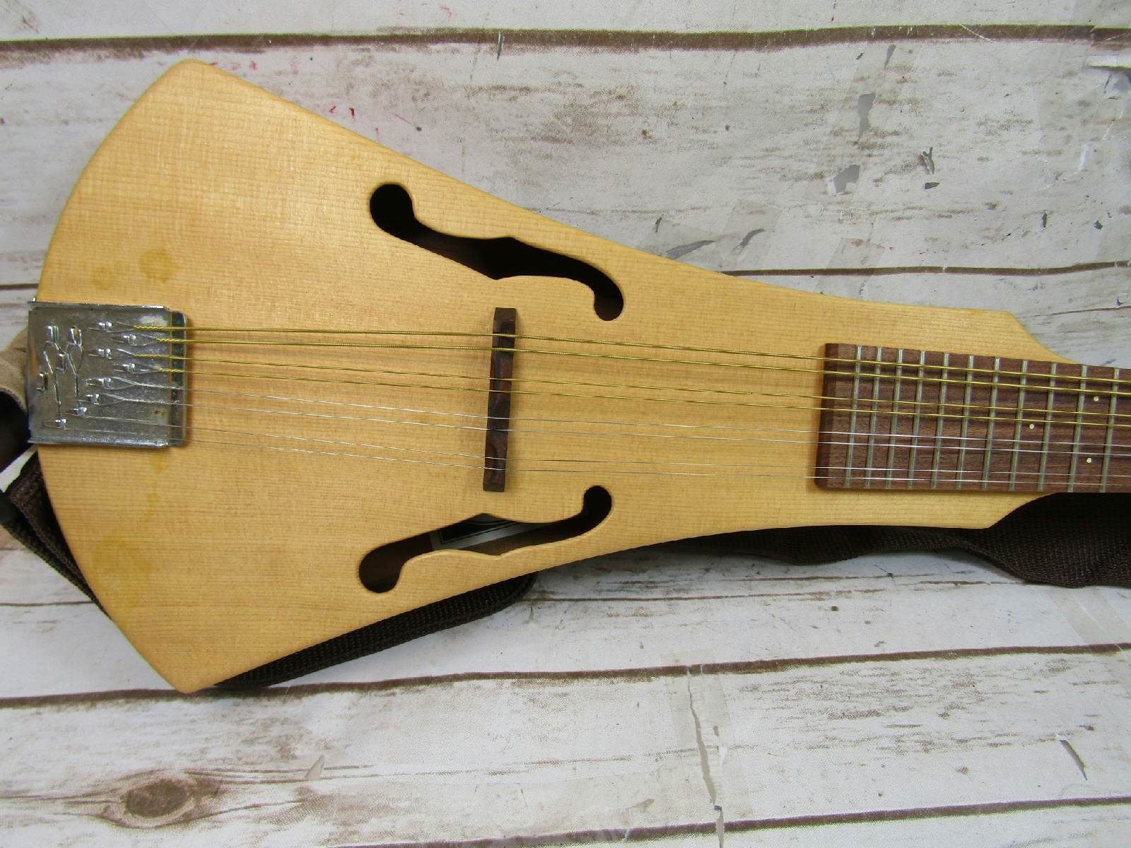martin and company 8 string backpacker 39 s mandolin in soft bag ebay. Black Bedroom Furniture Sets. Home Design Ideas