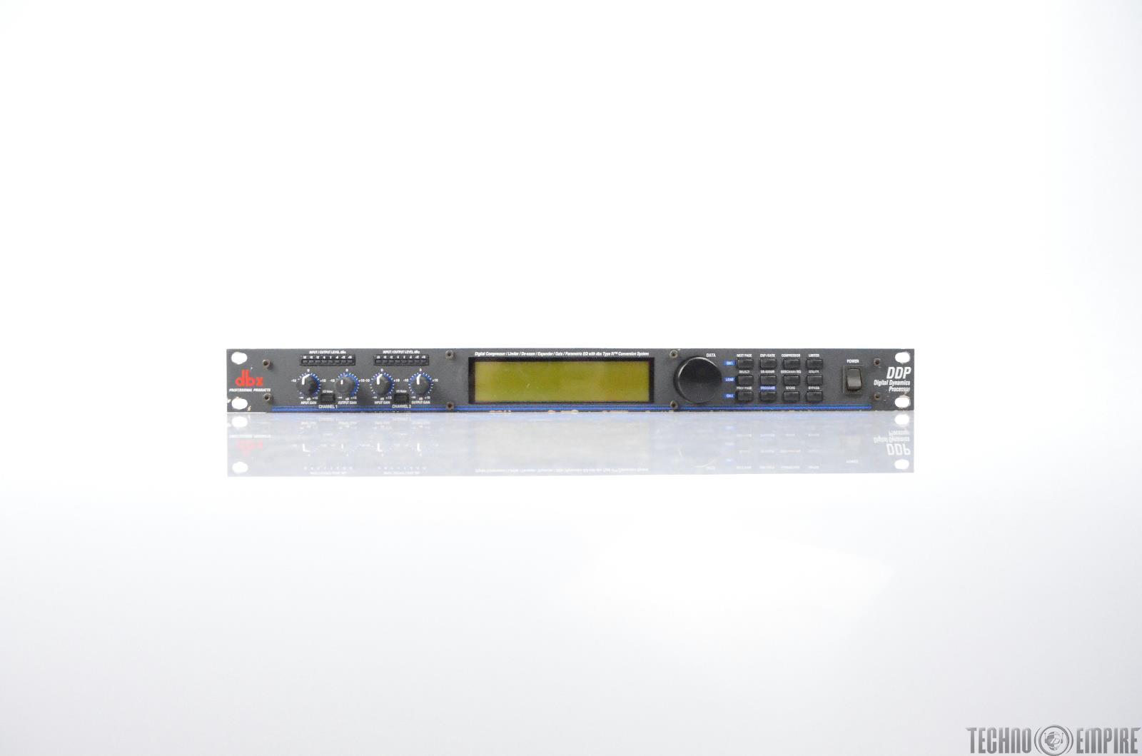 DBX DDP Digital Dynamics Processor Digital Compressor De-Esser Expander #31318