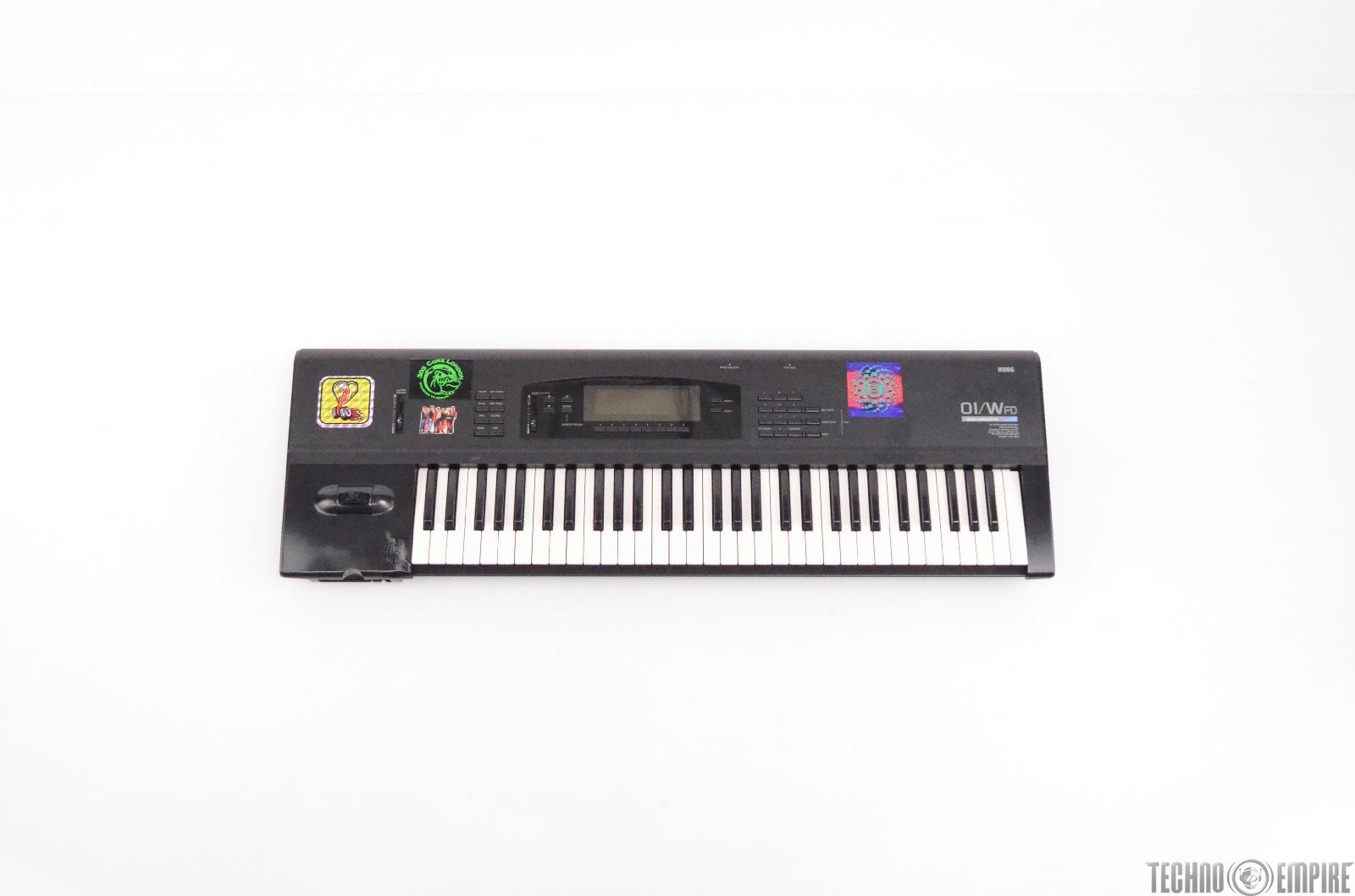 Korg 01/W FD Synthesizer 61 Key Keyboard Workstation Owned by Neurosis #30075