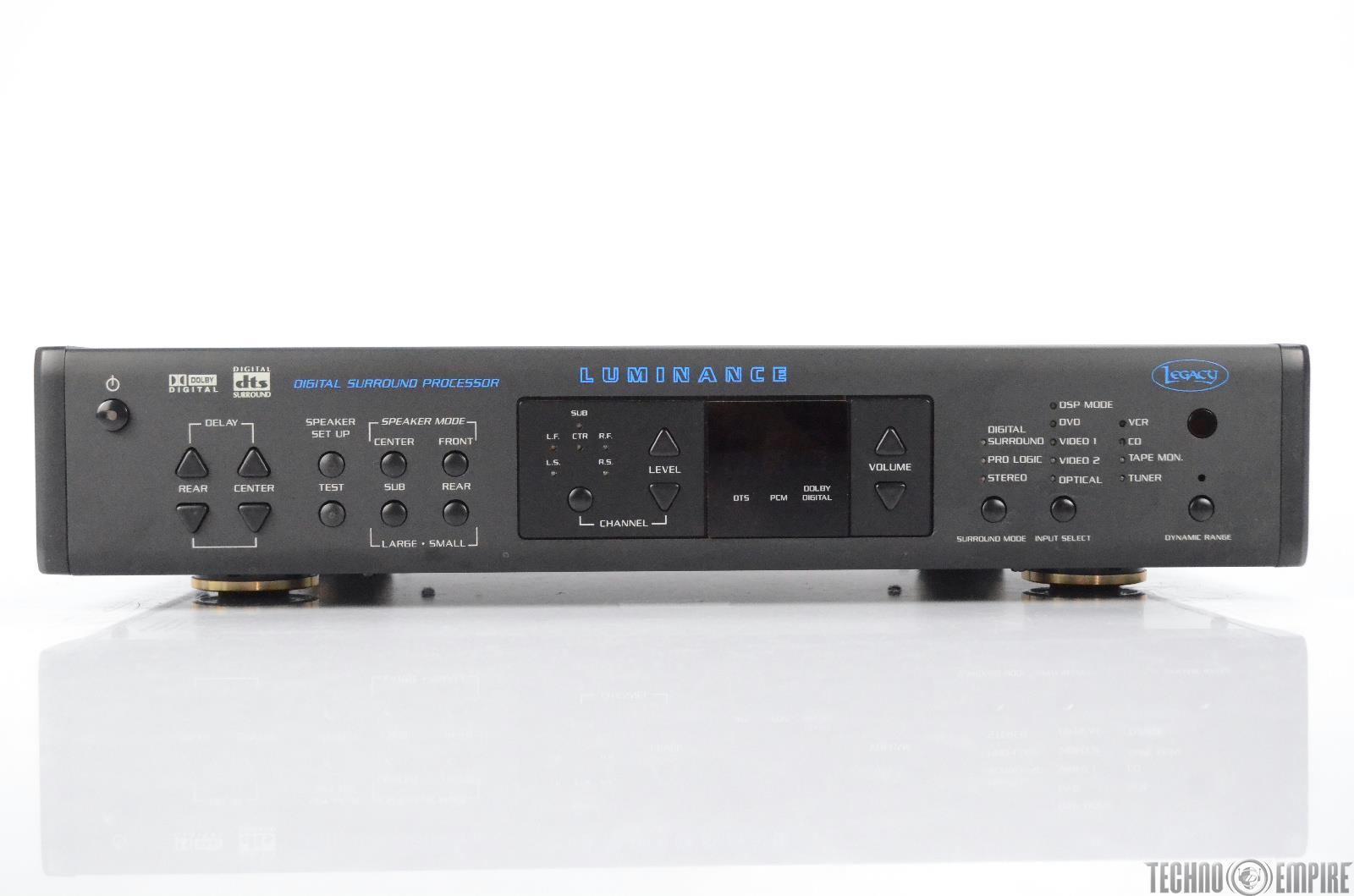 Legacy Luminance Digital Surround Processor Dolby Digital DTS #30744