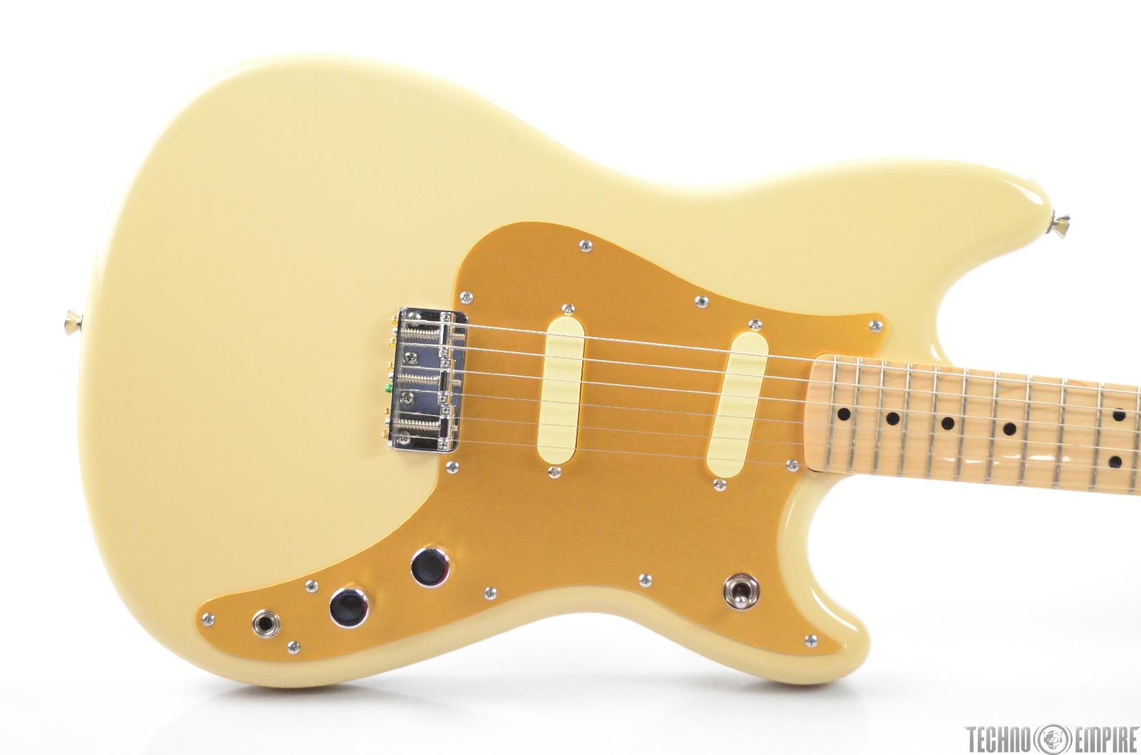 Squier Classic Vibe Duo-Sonic Electric Guitar Desert Sand w/ Case & Tuner #31367