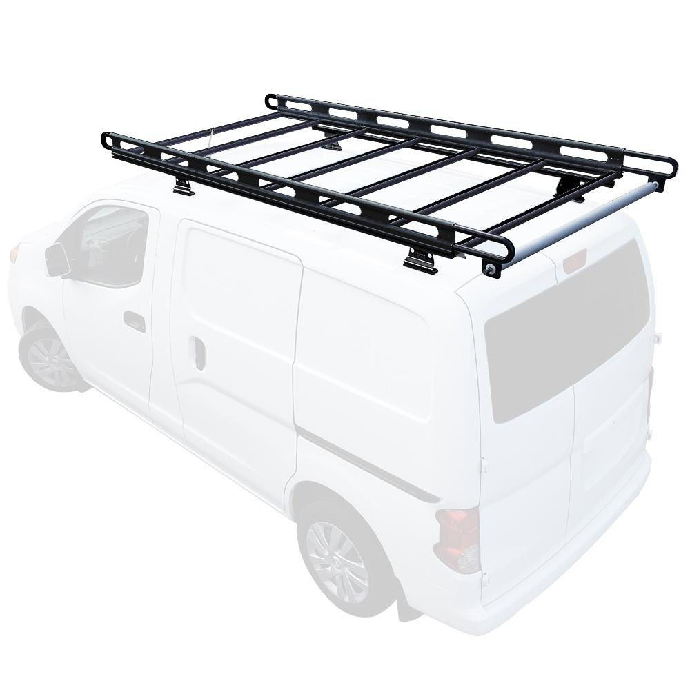 van street clamp design rack crossbars side prime quick with rotation curb vcr ladder two nissan for horizontal