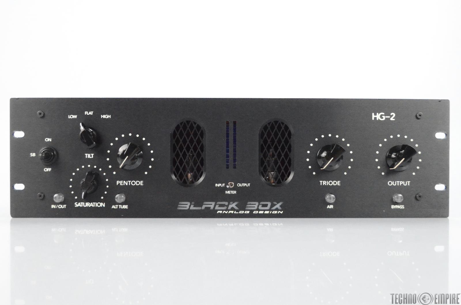Black Box Analog Design HG-2 Tube Saturator Compressor Prototype HG2 #31561