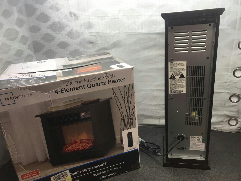 Chimneyfree Infrared Quartz Tower Heater Amp Mainstays 4