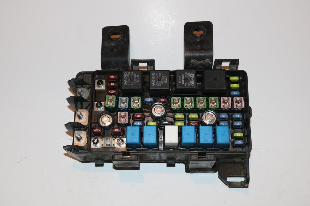 08 hyundai sonata fuse box 2003 hyundai sonata fuse box diagram 06-07 hyundai sonata under hood relay fuse box block panel ... #5