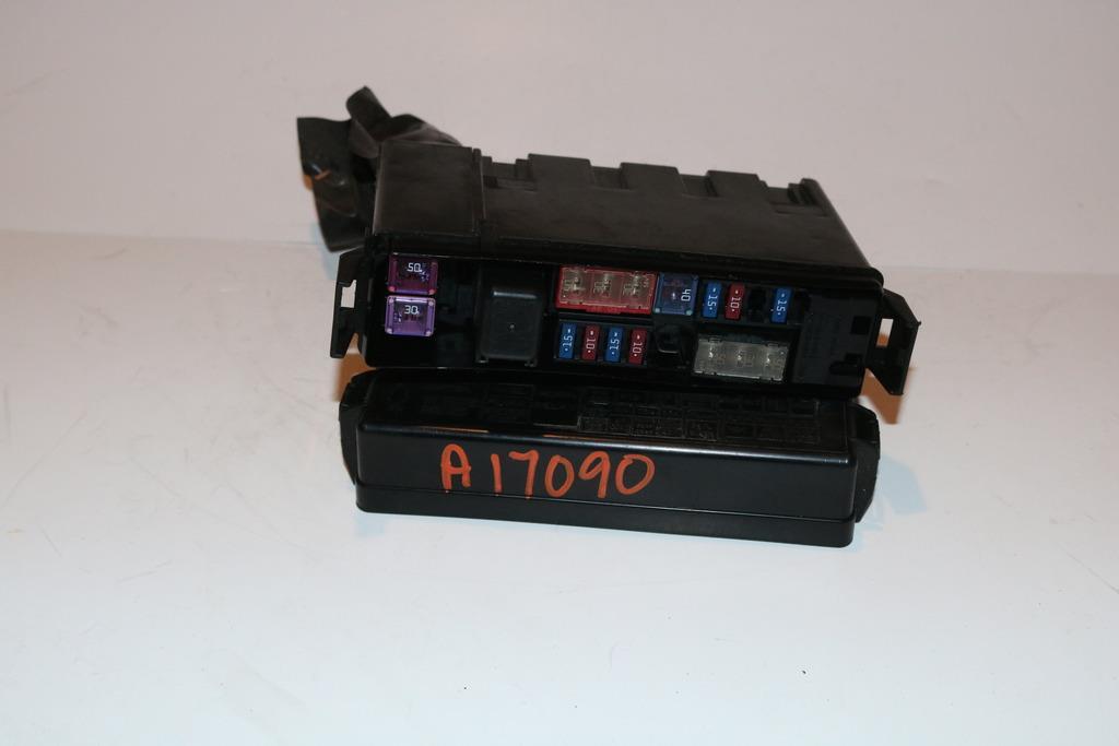 08-13 infiniti g37 convertible 2 door under hood relay fuse box block panel  2993