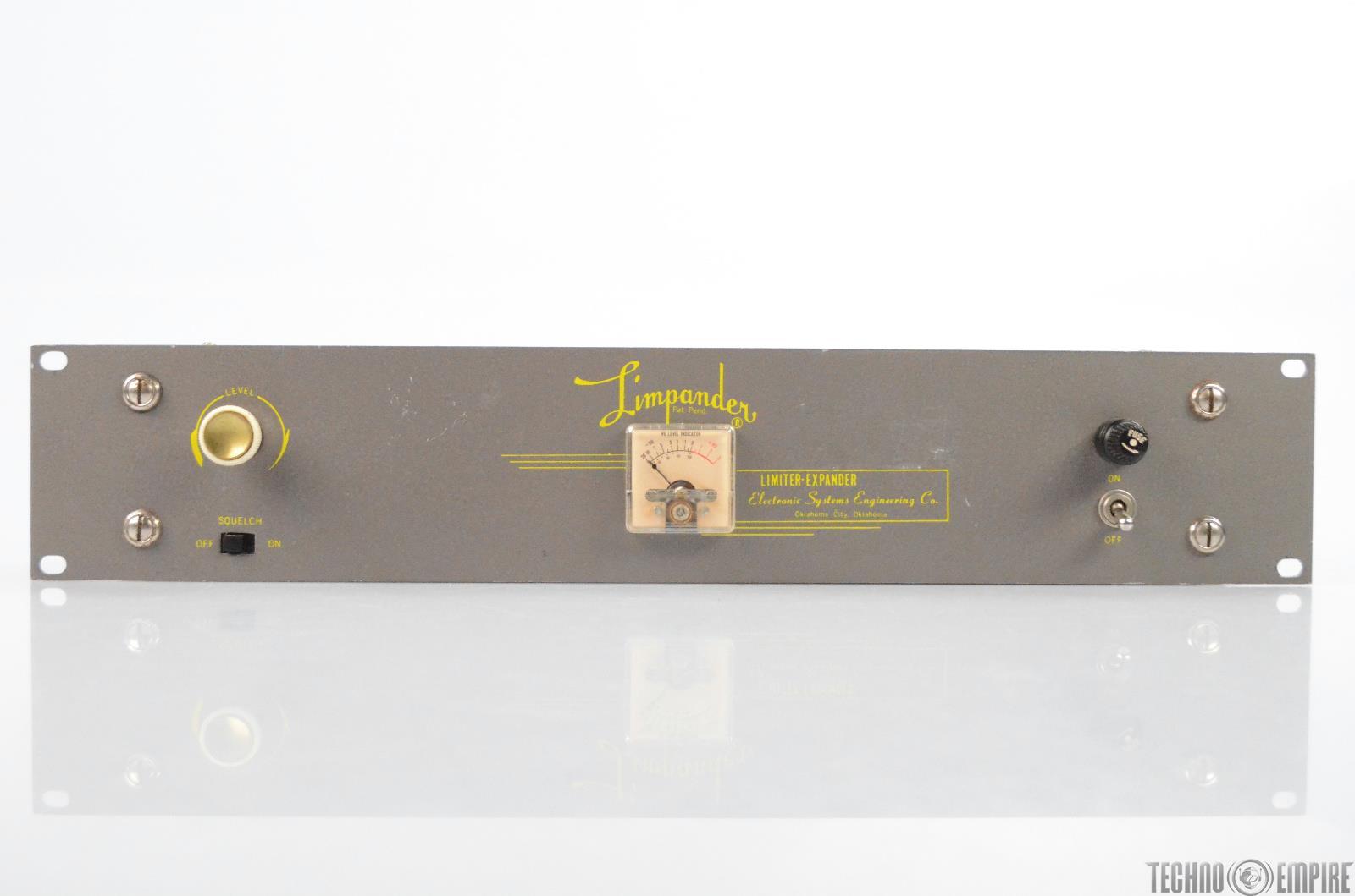 Limpander LE 3 Vacuum Tube Limiter Expander Rack Compressor Rare #31011