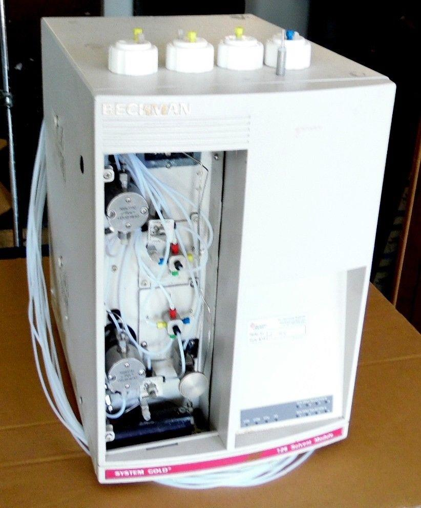 beckman 728396 system gold 126 solvent module hplc chromatograph ebay rh ebay com HPLC Pump Waters Alliance HPLC