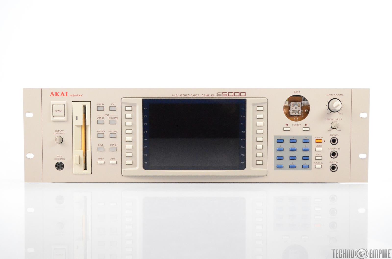 Akai S5000 V2 MIDI Stereo Digital Sampler S500V2 #31082