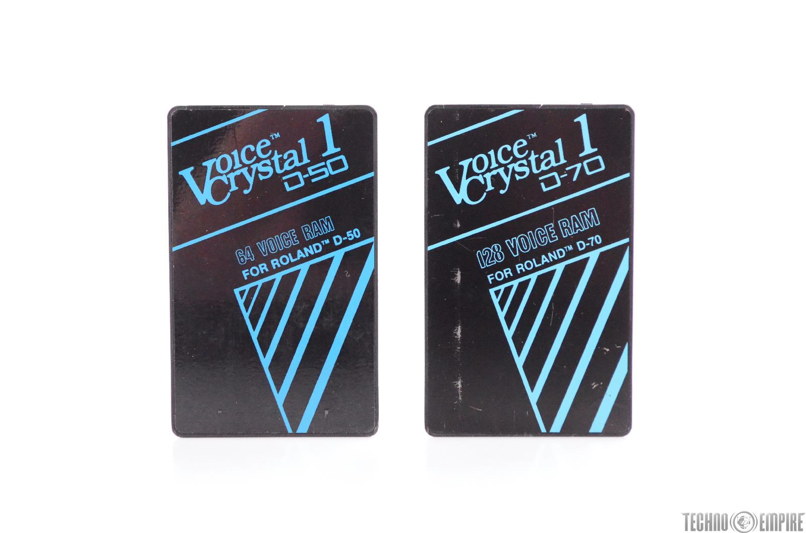 Voice Crystal 1 RAM Cards for Roland D-50 & D-70 #31123