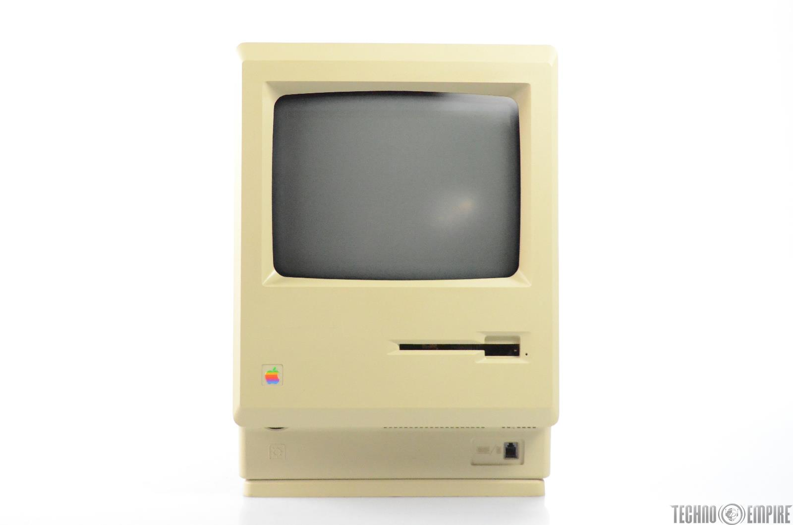 Apple Macintosh 512K M0001WP Personal Computer w/ Keyboard Cable PC 512 K #31547