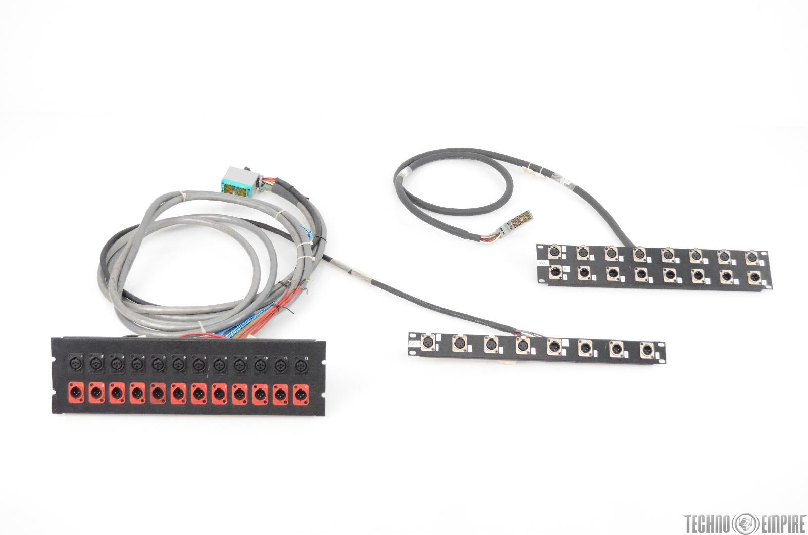 Mogami Tt Edac Xlr Wiring Diagram Audio Accessories Studio Panel Patch Bay Cable Network 31327