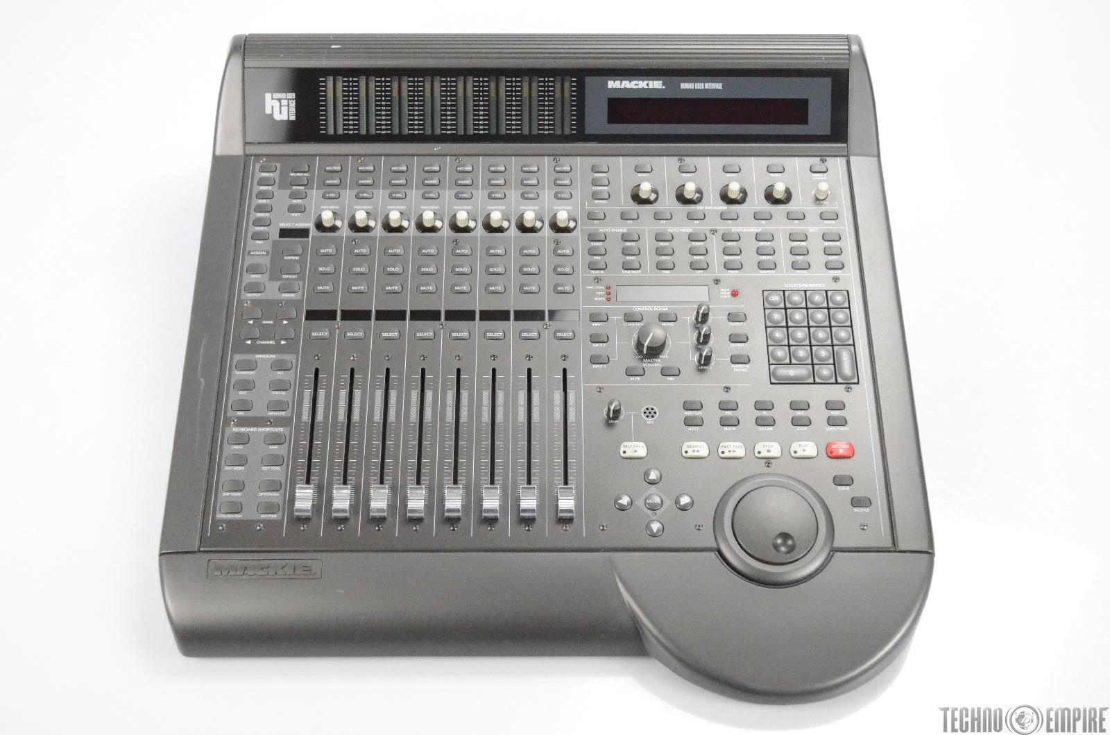 Mackie HUI Human User Interface Mixer Controller DAW Control