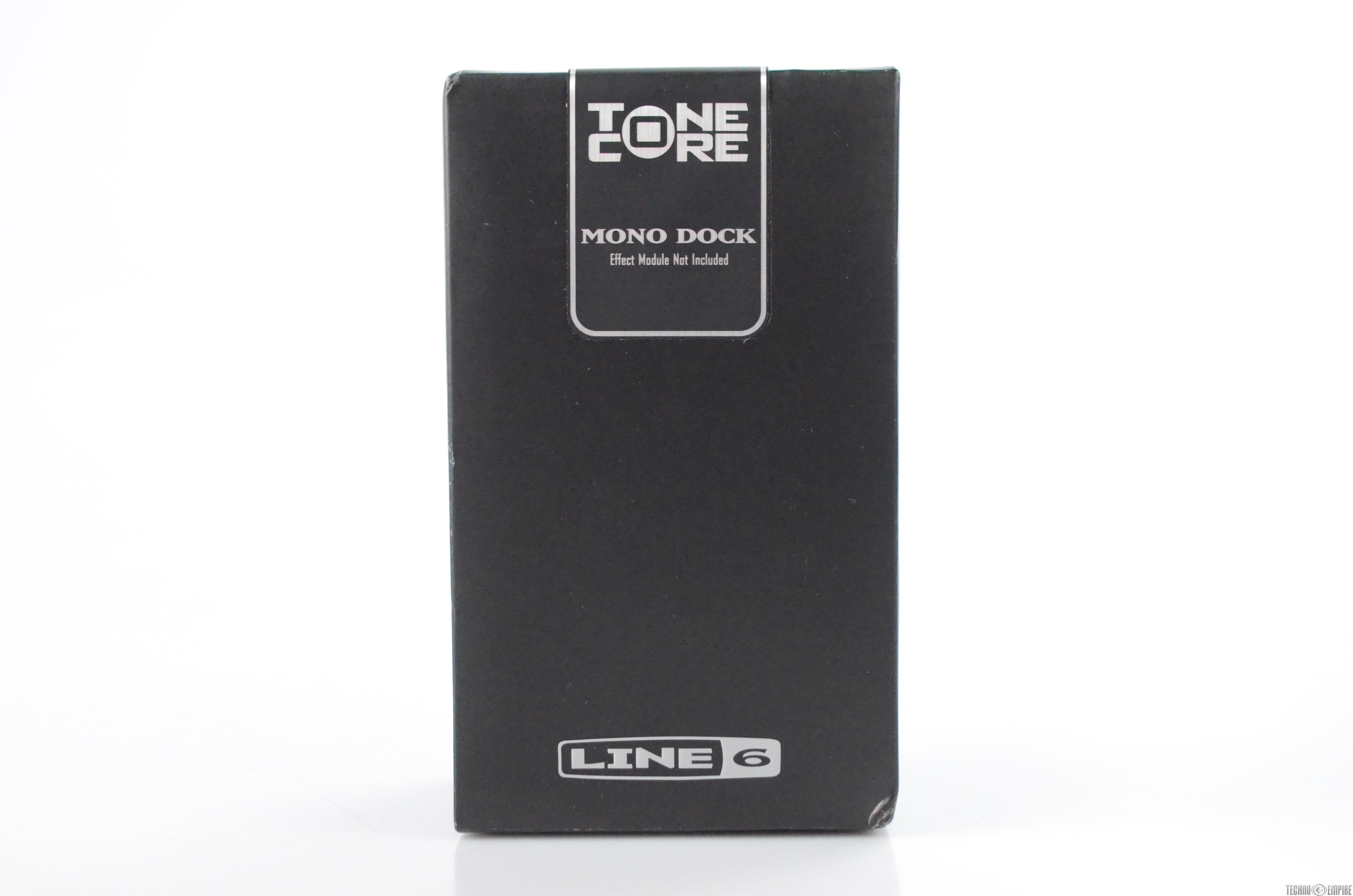 Line 6 Mono Tone Core Dock Pedal for ToneCore Modules Sealed w/ Packaging #31778