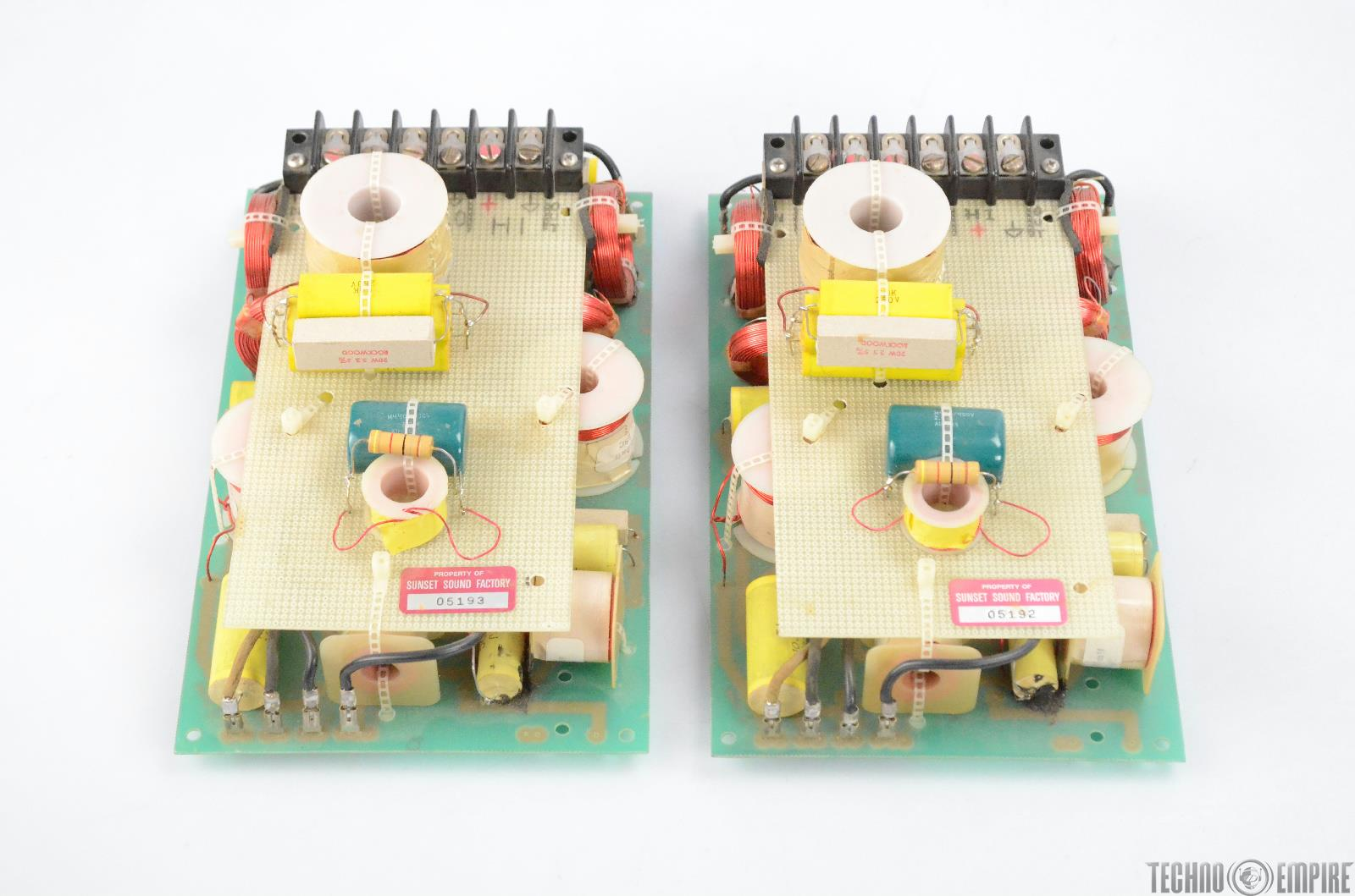2 PAS Professional Audio Systems 400-06B TOC 2 Way Passive Crossover #31577