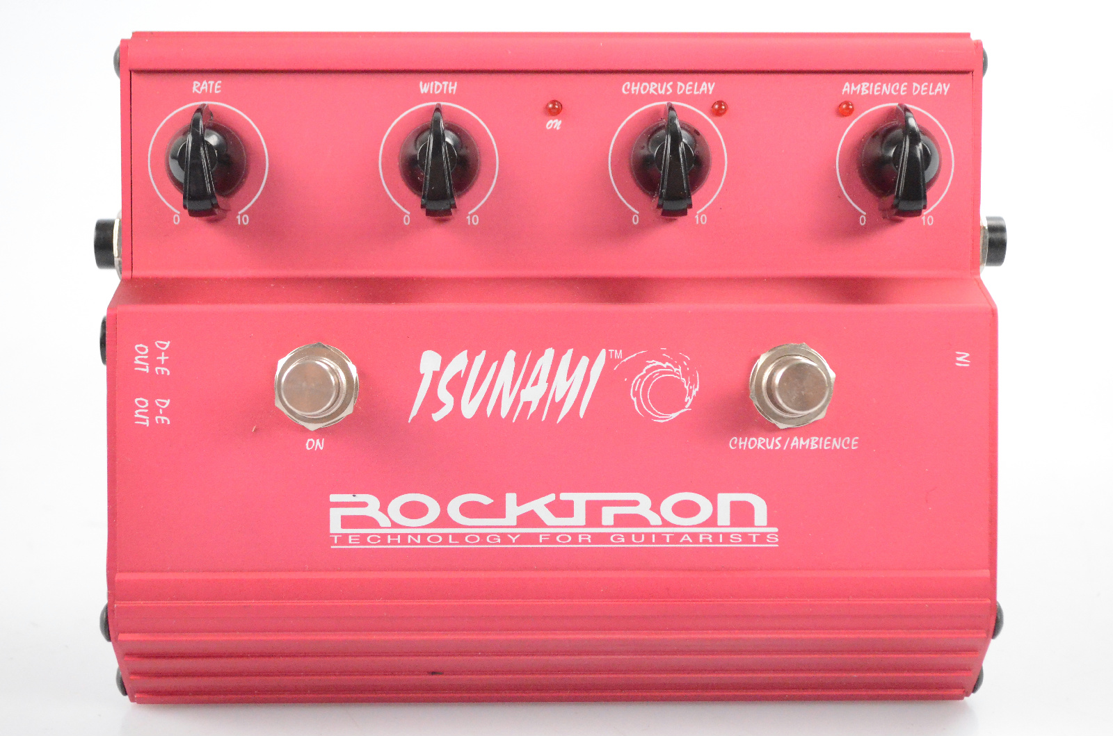 Rocktron Tsunami Chorus Guitar Effect Pedal w/ Manual & Original Box #31731