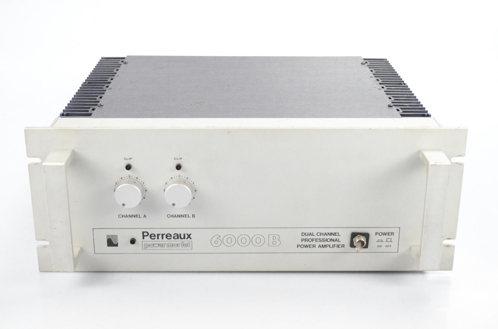 Perreaux 6000B Power MosFet 2 Channel Stereo Power Amplifier Amp 6000 B #31702