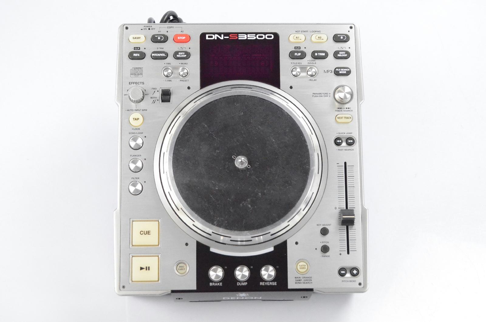 Denon DN-S3500 Professional Direct Drive DJ CD MP3 Player DNS3500 #31768