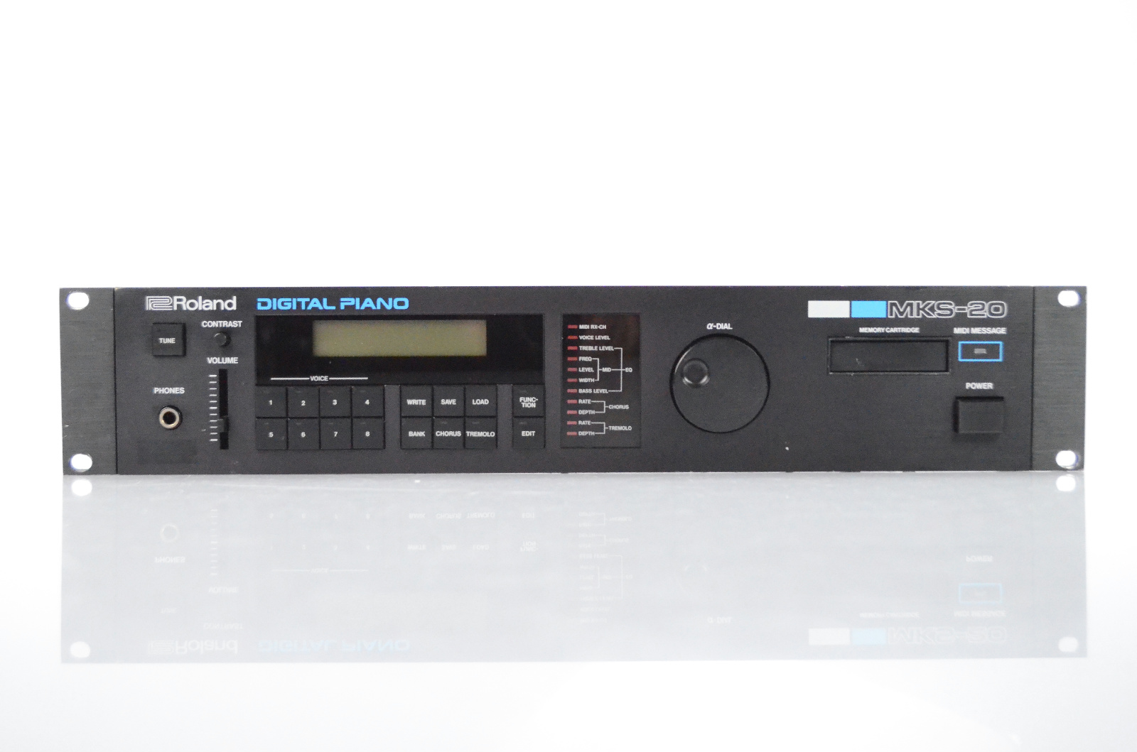 Roland MKS-20 Digital Piano Sound Module Synthesizer Rack Synth MKS20 #31826