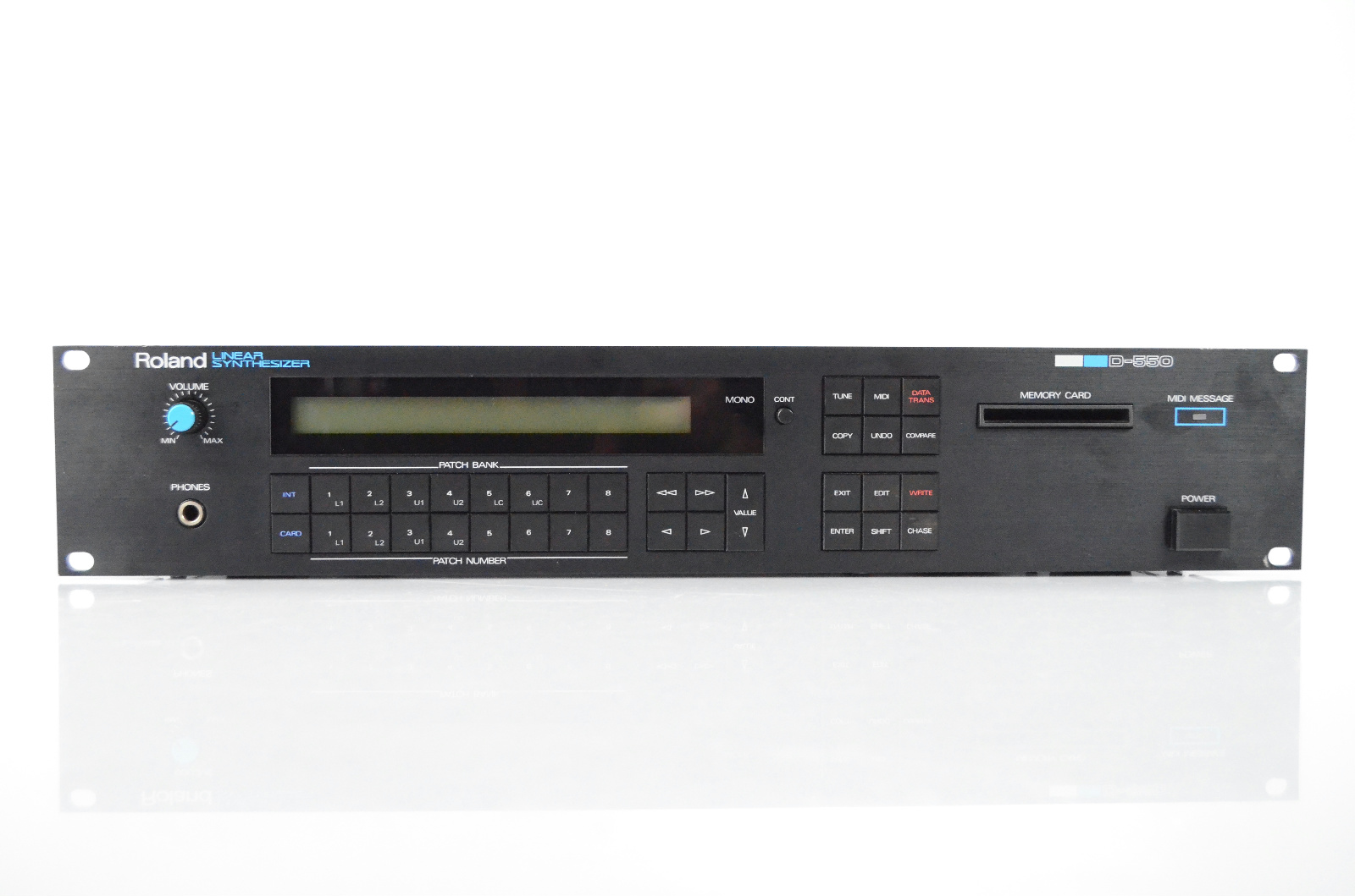 roland d 550 linear synthesizer synth w manual for parts or repair rh ebay com Roland D-50 VST