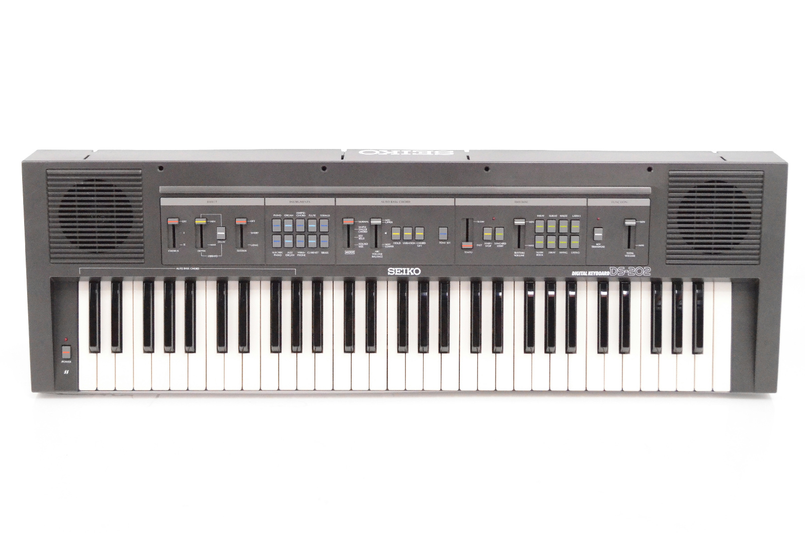Seiko DS-202 Digital Keyboard 61 Key Note Piano DS202 #31766